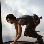 Lara Croft klettert sehr menschlich durch die Spielwelt