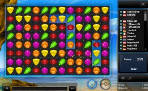 Das Flashgame Jewel Magic