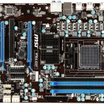 MSI Mainboard 970A G43 AM3