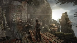 Kletter und Sprungsequenz bei Tomb Raider
