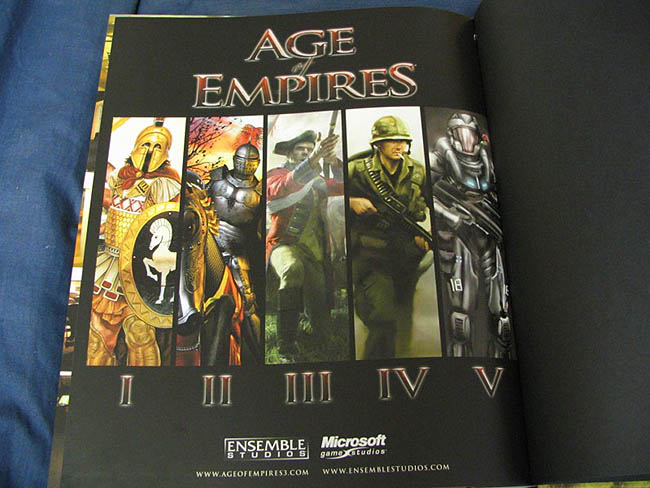 Age of Empires 3 Collectors Edition Artbook - Age of Empires 4