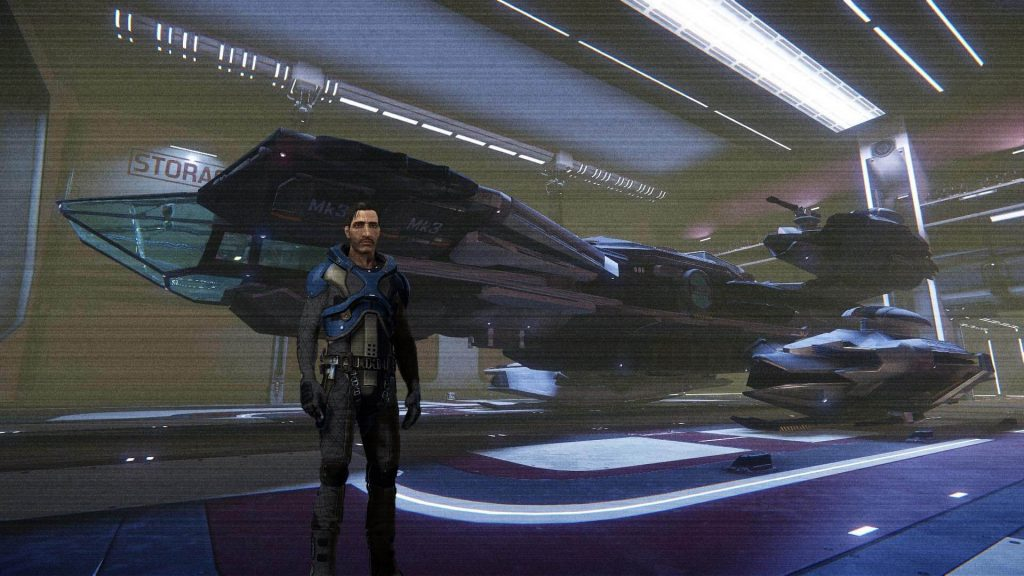 Male Character in Star Citizen