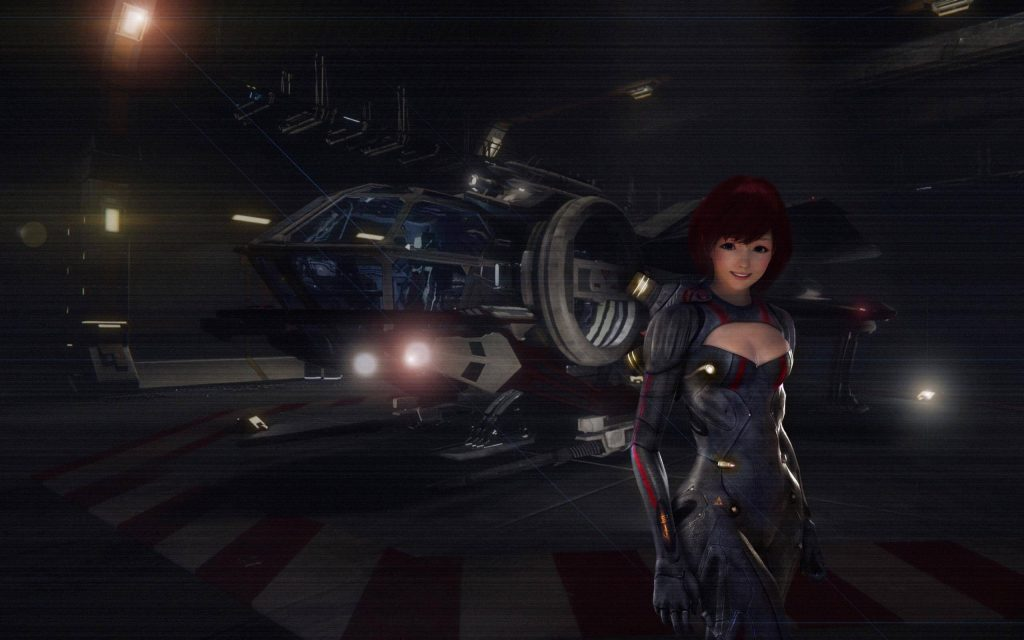 Female Character in Star Citizen