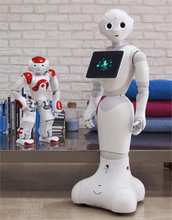 Pepper Smart Home Roboter