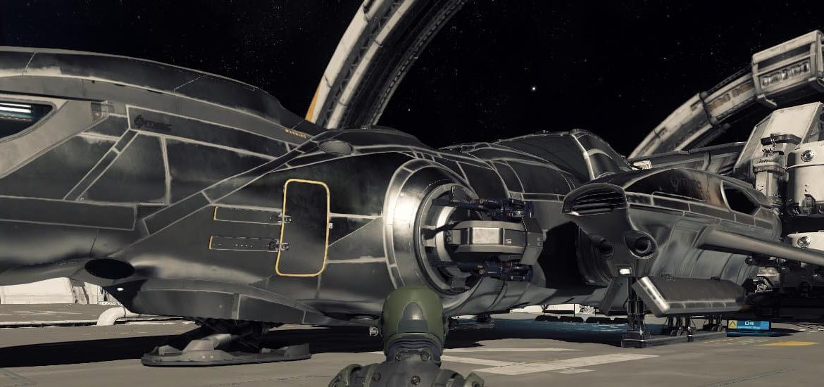 Star Citizen - Freelancer 2.3 auf Port Olisar Landing Pad